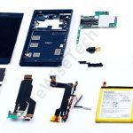 Фото разобранного Sony Xperia XZ: процесс и компоненты