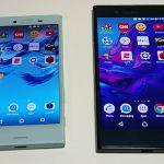 Скорость работы Sony Xperia X Compact против Xperia XZ
