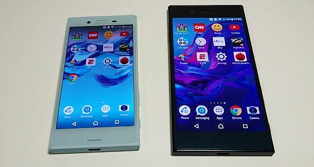 Sony Xperia XZ vs Xperia X Compact скорость работы