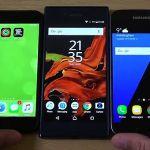 Сравнение скорости работы Sony Xperia XZ против Galaxy S7, iPhone 7 и других