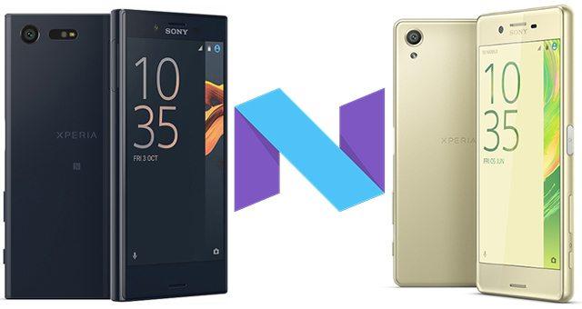 Android 7 Nougat 34.2.A.0.266 выходит на Xperia X и X Compact
