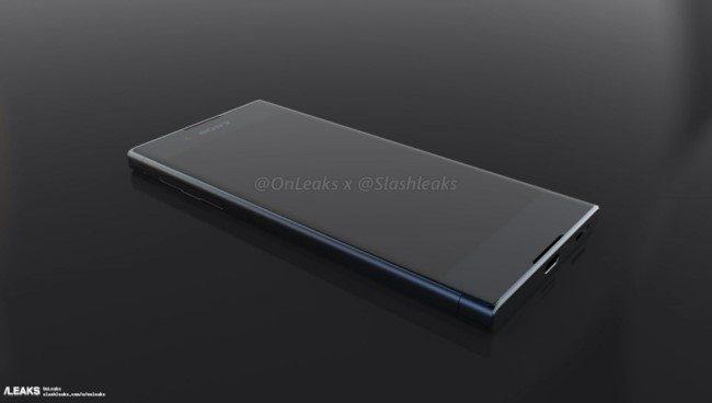 рендеры Sony Xperia XA 2017