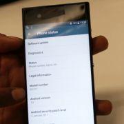 Sony G3121 на видео