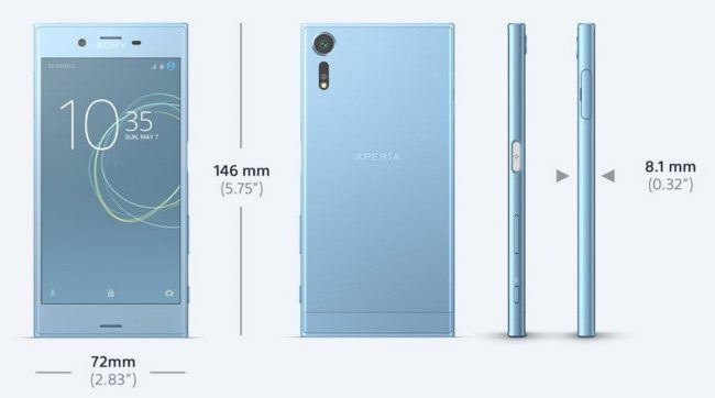 Sony Xperia XZs представлен