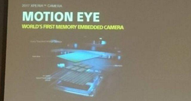 """камеры новых Sony Xperia с """"Motion Eye"""" и собственной память"""
