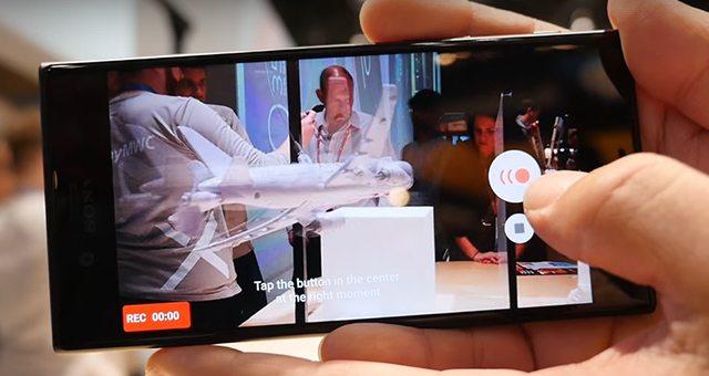 примеры видео Xperia XZ Premium в 960fps Slow Mo