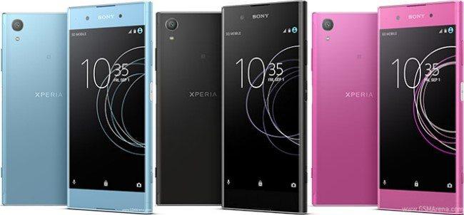 sony xperia xa1 plus голубой, черный, розовый