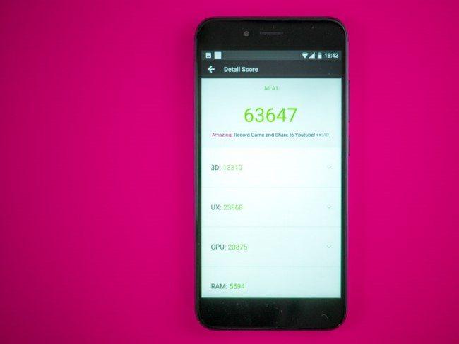 Xiaomi Mi A1 производительность