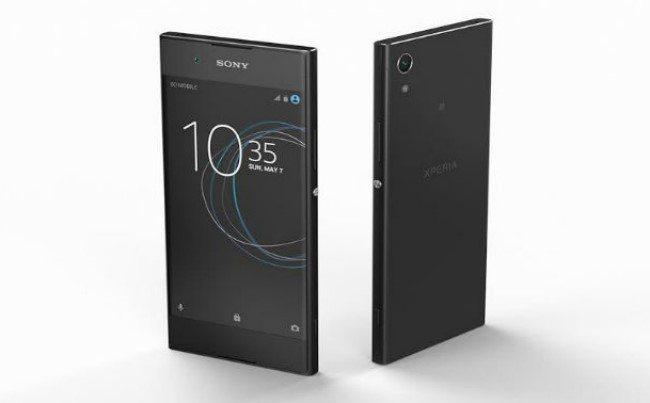 Sony Xperia XA1 дизайн