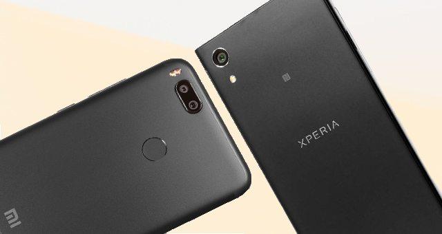 Sony Xperia XA1 и Xiaomi Mi A1 в сравнении