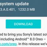 Sony Xperia XZ и XZs получают Android 8.0 (41.3.A.0.401)