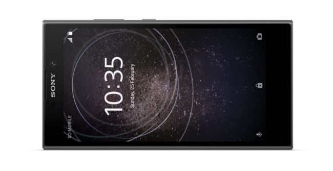 Xperia L2 - новинка Sony 2018