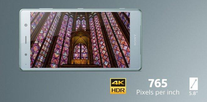 Sony Xperia XZ2 Premium дисплей