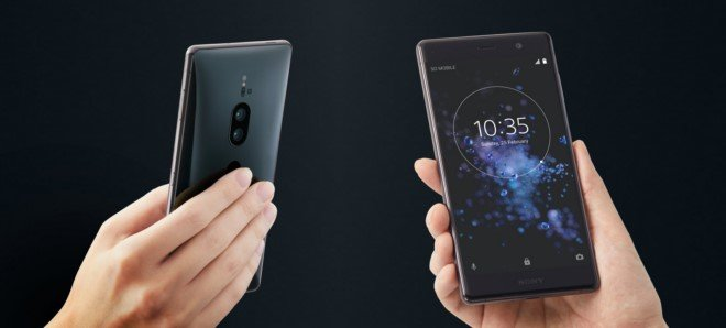 Sony Xperia XZ2 Premium дизайн