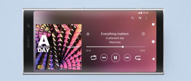 Sony Xperia XA2 Plus экран