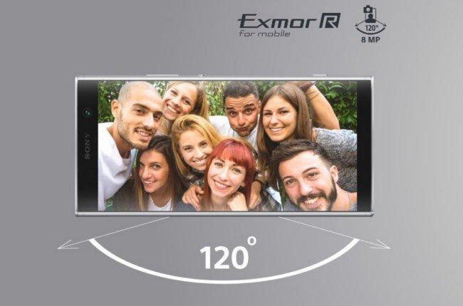 Sony Xperia XA2 Plus камера
