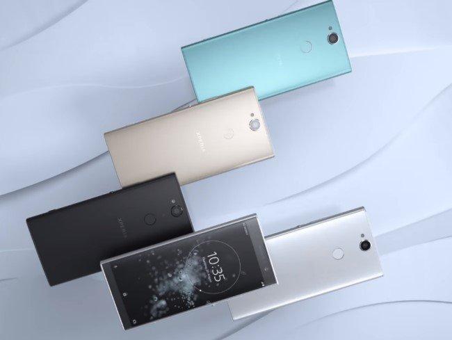 Sony Xperia XA2 Plus цвета корпуса