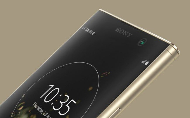 Sony Xperia XA2 Plus дизайн