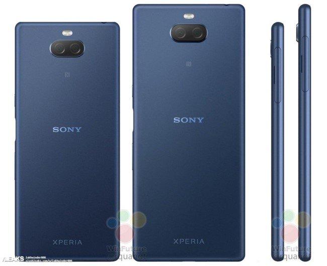 Sony Xperia 1, Xperia 10 и L3 на рендерах