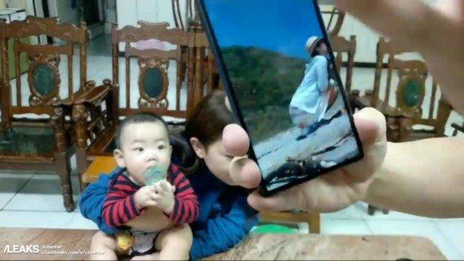 Sony Xperia XA3 рендеры 21:9 экран